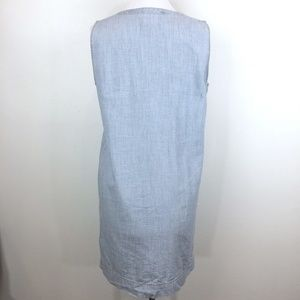 Madewell Dresses - Madewell Sz S Lace up chambray shift dress